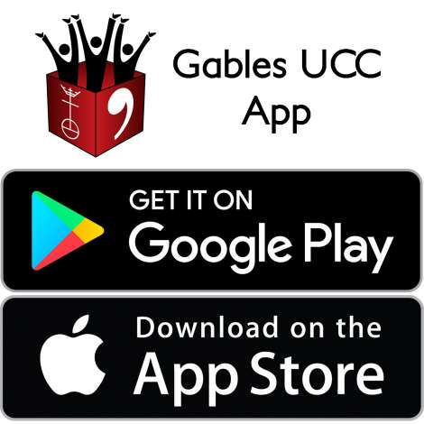 Download the GablesUCC App on Google Play or the App Store