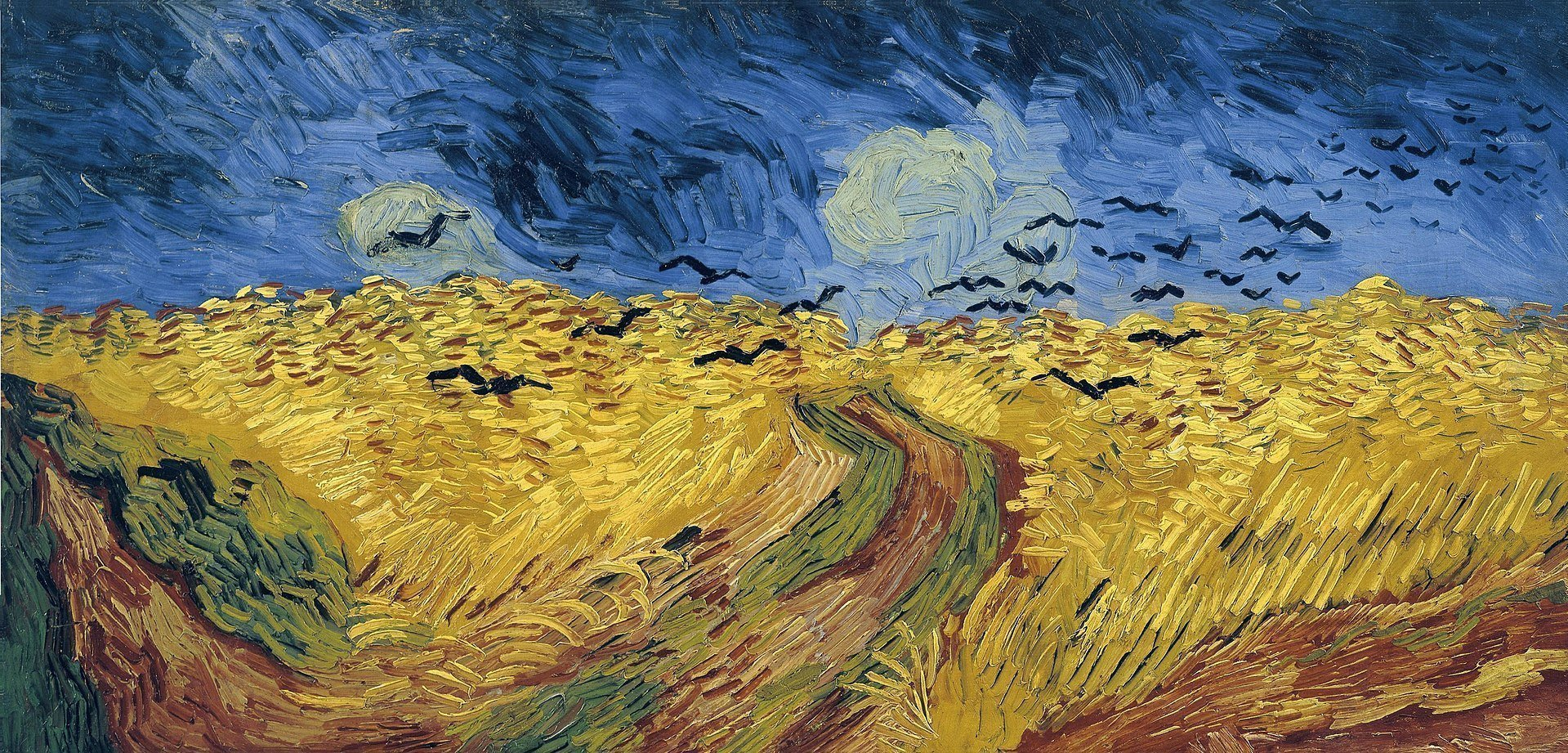 "Vincent van Gogh's ""Wheatfield with Crows"""